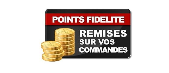 Programme Points de Fidélité - Votre fidélité récompensée !!