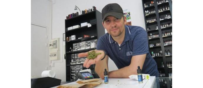 Dans les Hauts-de-Seine, le «cannabis light» de Puteaux attire la foule